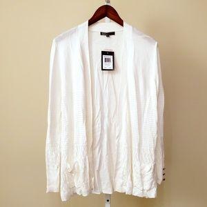 NWT Cream Cardigan Sweater Size L